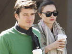Orlando Bloom und Miranda Kerr