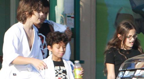 Prince Michael und Paris Jackson