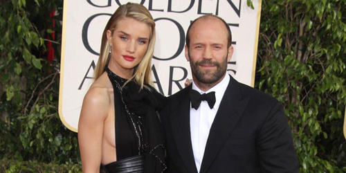 Rosie Huntington-Whiteley und Jason Statham
