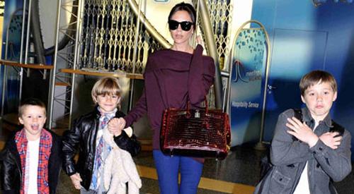 Victoria Beckham und ihre Kinder