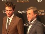 Robert Pattinson und Christoph Waltz (Foto: HauptBruch GbR)