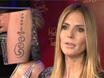 Heidi Klum: 'Seal'-Tattoo bald Geschichte?