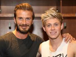 David Beckham: Trifft One Direction