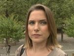 Jeanette Biedermann: Arm in Gips