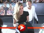 Versteckt Jennifer Aniston einen Baby-Bauch unter ihrem XXL-Gürtel?
