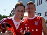 Olly Murs: Stippvisite bei Bayern München