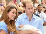 Prinz George: Hat die Taufe erhalten