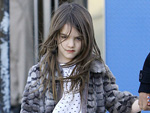 Suri Cruise: Arm in Gips