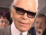 Karl Lagerfeld: Bekennender Faulpelz
