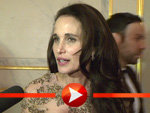 Andie MacDowell im Interview