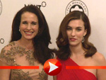Andie MacDowell mit Tochter Rainey Qualley
