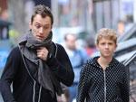Jude Law: Sohnemann macht den Laufsteg unsicher