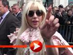 Lady Gaga Fährt am Ritz Carlton in Berlin vor