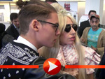 Lady Gaga trifft in Berlin ein