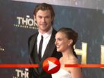 So schön sind Natalie Portman und Chris Hemsworth als Filmpaar