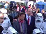 Albert von Monaco: Fürst trifft Darth Vader