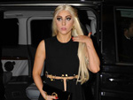 Lady Gaga: Front Row bei der Pariser Fashion Week
