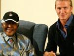 David Beckham: Bedankt sich bei Nelson Mandela