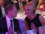 Oliver Pocher und Sabine Lisicki beim Party-Hopping: Sie wurde Berliner Sportlerin des Jahres