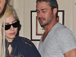 Taylor Kinney und Lady Gaga: Schläge für den ersten Kuss