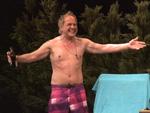 Uwe Ochsenknecht halb nackt auf der Bühne: Familientreffen bei Theaterpremiere