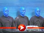 Die Blue Man Group stellt ihr neues Programm in Berlin vor