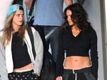 Cara Delevingne: Nackte Plantscherei mit Michelle Rodriguez