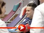 Fußball-Profis spenden Blut