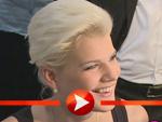 Melanie Müller auf der Top Hair 2014 in Düsseldorf