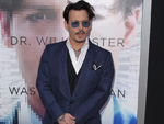 "Johnny Depp: Lallt sich durch die ""Hollywood Film Awards"""
