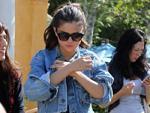Selena Gomez: Mit Orlando Bloom am Flughafen erwischt
