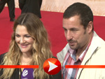 """Drew Barrymore und Adam Sandler stellen """"Urlaubsreif"""" in Berlin vor"""