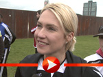 Fußballtag mit der Bundesfamilienministerin in Berlin
