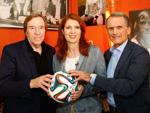 Monica Lierhaus: Voll im WM-Fieber
