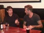 David Beckham: Auf ein Bier mit Tom Cruise