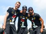 Fußball-WM: Die Weltmeister halten in Berlin Hof