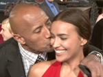 Hercules-Premiere: Dwayne Johnson küsst Ronaldo-Freundin Irina Shayk