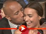Dwayne Johnson küsst Ronaldo-Freundin Irina Shayk