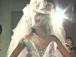 Fashion Show im Atombunker: GNTM-Siegerin Stefanie Giesinger im Brautkleid