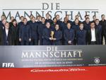 """""""Die Mannschaft"""": Große Premiere mit Mannschaft und WM-Pokal"""