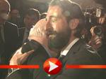 Adrien Brody umarmt Michail Gorbatschow