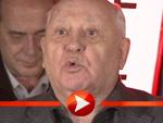 Michail Gorbatschow feiert 25 Jahre Mauerfall