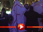 """Proteste bei der Premiere von """"Honig im Kopf"""" in Berlin"""