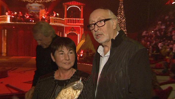 Karl Dall mit seiner Frau Barbara (Foto: HauptBruch GbR)