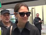 Katie Holmes in Berlin: Von Demo gestoppt!