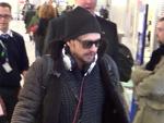 Hollywoodstar James Franco: Mit Rucksack und Kopfhörern in Berlin gelandet