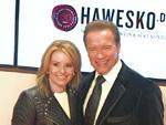 50. Goldene Kamera: Arnold Schwarzenegger zeigt seine Freundin!