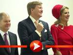 Willem-Alexander und Maxima besuchen Hamburg