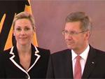Christian und Bettina Wulff: Geben sich noch einmal das Ja-Wort