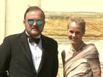 Trotz Trennung: Fürst Alexander zu Schaumburg-Lippe unterwegs mit Noch-Ehefrau